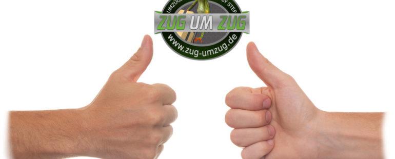Umzugsfirma mit top Bewertungen und Service für den Umzug