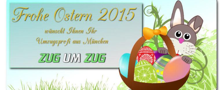 Frohe Ostern wünscht ZugUmZug
