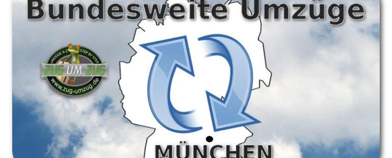 Bundesweite Umzüge von München aus – Kein Problem für uns!