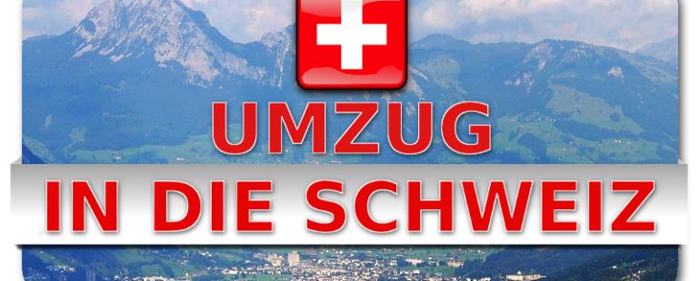 Umzug günstig mit Umzugsfirma in die Schweiz