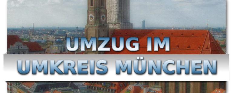 Günstig umziehen im Umkreis München mit den Umzugsprofis