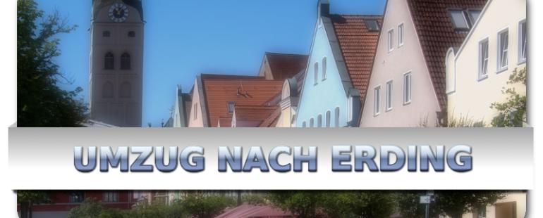 Mit Umzugsunternehmen in die altbayrische Herzogstadt Erding
