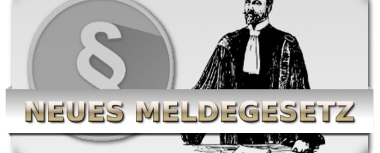 Neue Meldepflicht ab 01.11.2015 – Bei Ein-, Aus- & Umzug – Bundesmeldegesetz