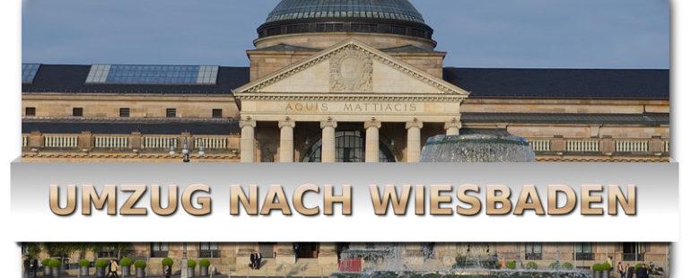 Günstiger Umzug von München nach Wiesbaden in Hessen